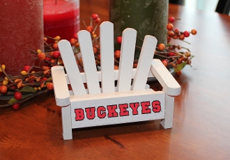 Buckeyes Business Card Holder