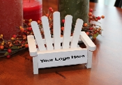 Your Logo Here Business Card Holder